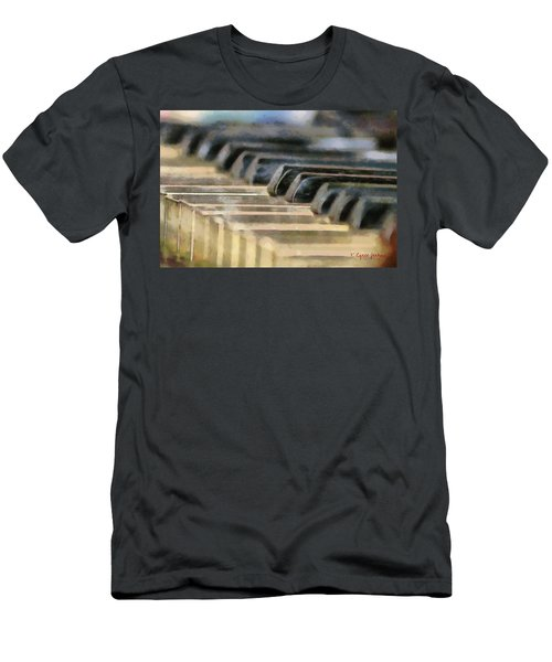 Keys To My Heart Men's T-Shirt (Athletic Fit)