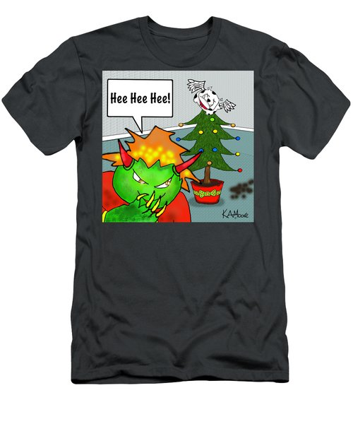 Kid Monsta Xmas 3 Men's T-Shirt (Athletic Fit)