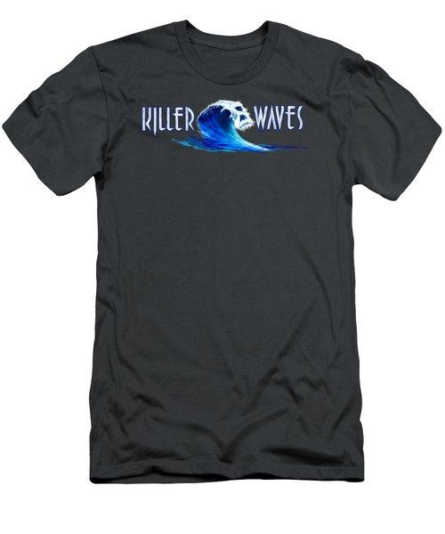 Killer Waves Men's T-Shirt (Athletic Fit)