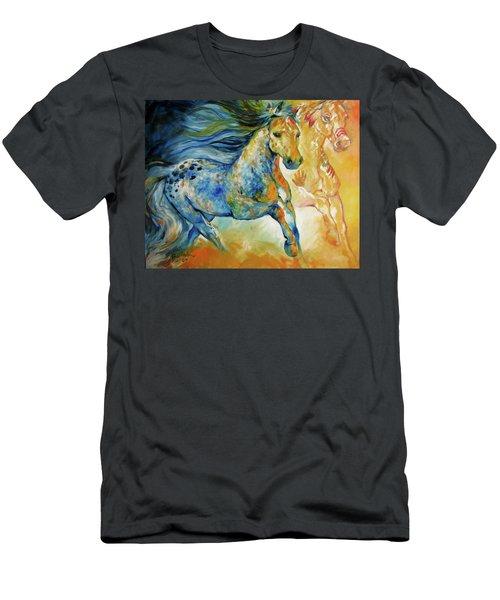 Kindred Spirits  Men's T-Shirt (Athletic Fit)