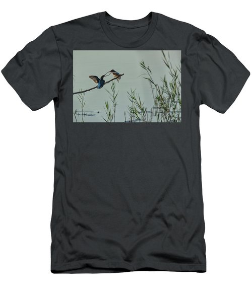 King Fishers  Men's T-Shirt (Athletic Fit)