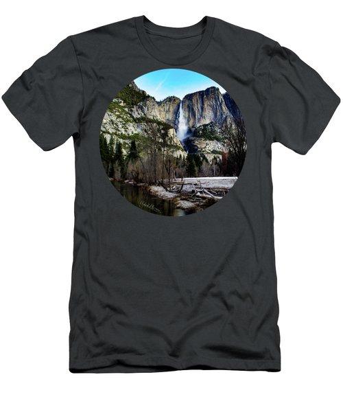 King Of Waterfalls Men's T-Shirt (Slim Fit) by Adam Morsa