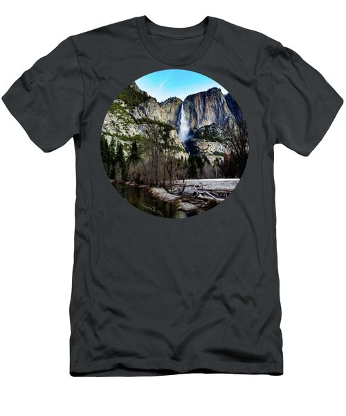 King Of Waterfalls Men's T-Shirt (Athletic Fit)