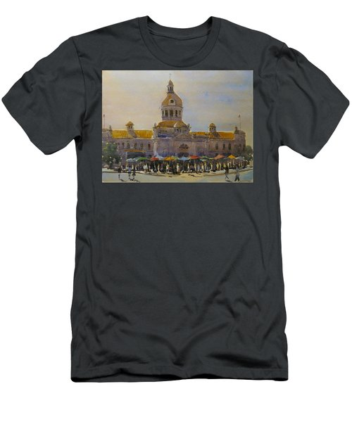 Kingston-city Hall Market Morning Men's T-Shirt (Athletic Fit)