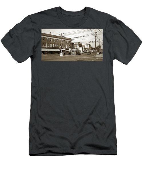 Kingston Corners Kingston Pa Early 1950s Men's T-Shirt (Athletic Fit)