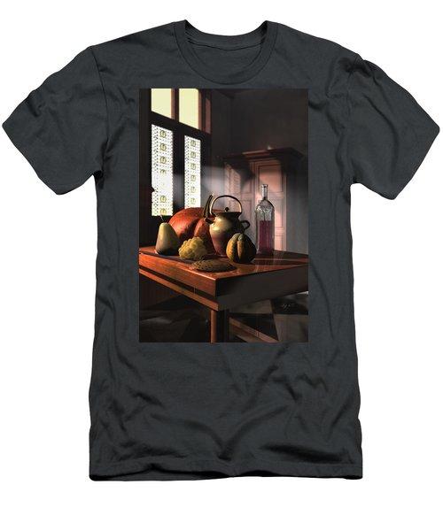 Kinzeliin Still Life 1 Men's T-Shirt (Slim Fit) by Dave Luebbert
