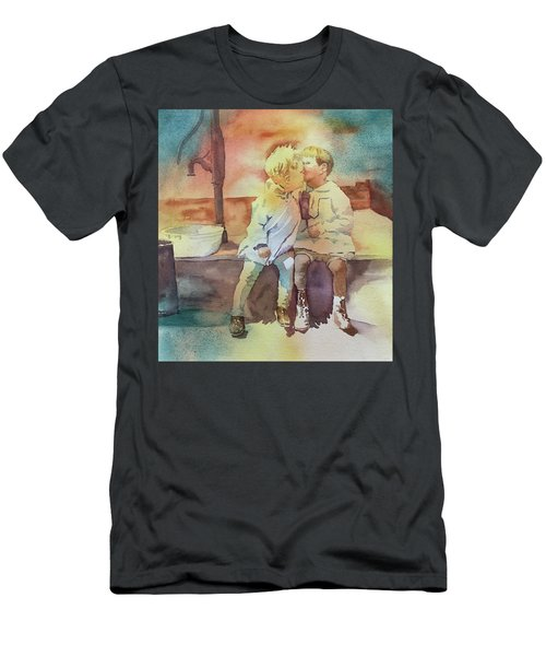 Kissing Cousins Men's T-Shirt (Athletic Fit)