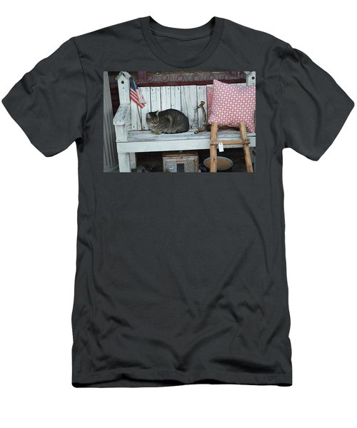Kitty The Antique Dealer Men's T-Shirt (Athletic Fit)