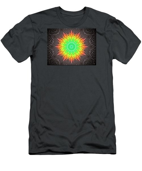 Men's T-Shirt (Slim Fit) featuring the photograph Klidanature Sun  by Debra     Vatalaro