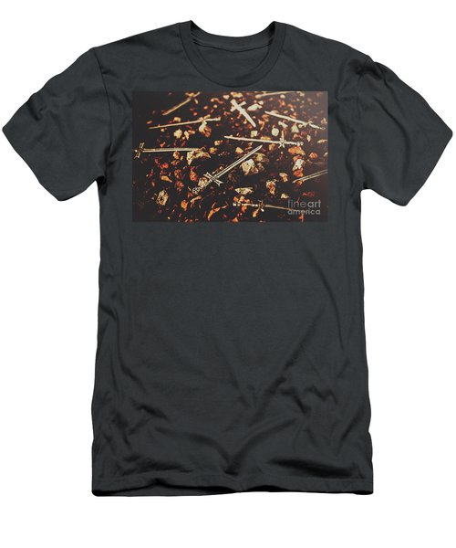Knightly Fight Men's T-Shirt (Athletic Fit)