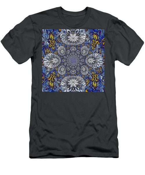 Knotted Glasswork Men's T-Shirt (Athletic Fit)