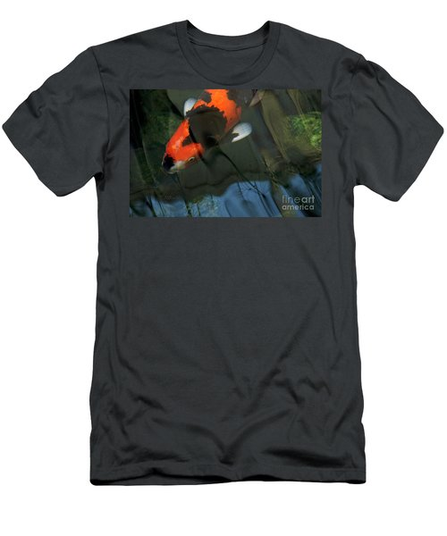 Koi Reflection Men's T-Shirt (Athletic Fit)