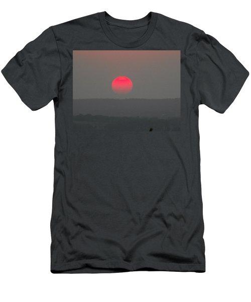Konza Sunset Men's T-Shirt (Athletic Fit)
