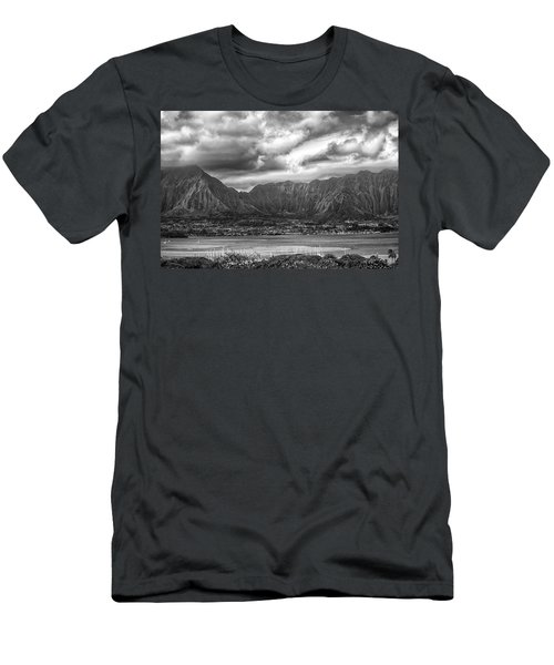 Ko'olau And H-3 Men's T-Shirt (Athletic Fit)
