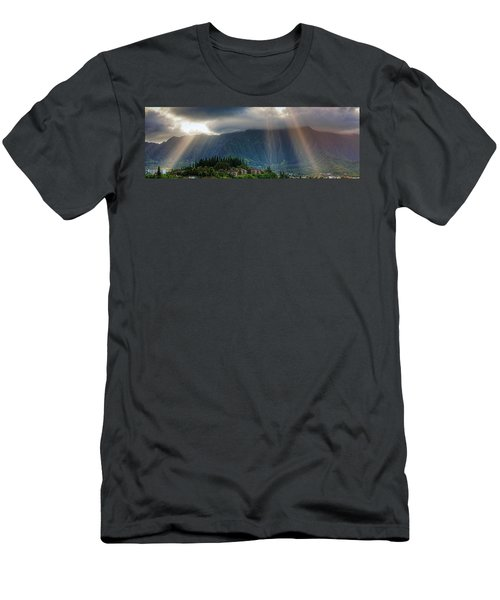 Koolau Sun Rays Men's T-Shirt (Athletic Fit)