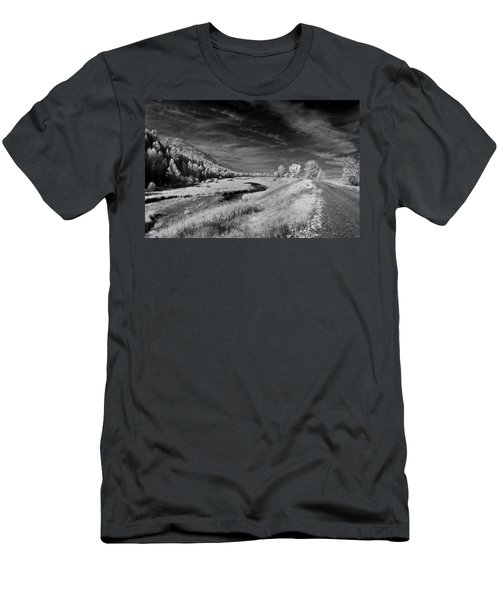 Kootenai Wildlife Refuge In Infrared 2 Men's T-Shirt (Athletic Fit)