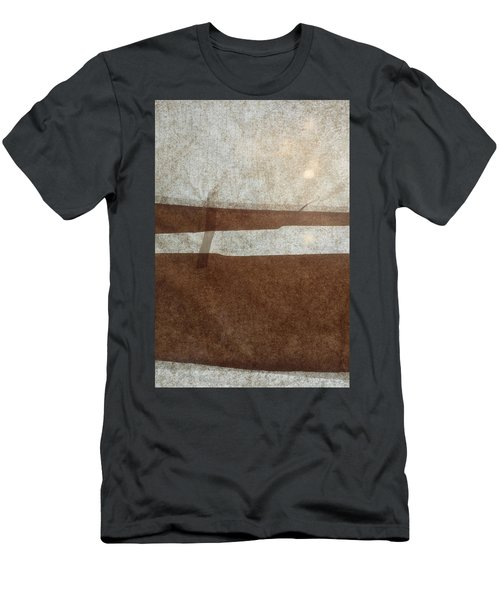 Kraft Paper And Screen Seascape Men's T-Shirt (Athletic Fit)