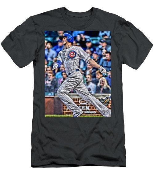 Kris Bryant Chicago Cubs Men's T-Shirt (Athletic Fit)