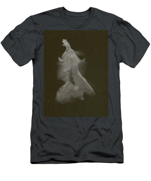 Kroki 2014 10 04_16 Figure Drawing White Chalk Men's T-Shirt (Athletic Fit)