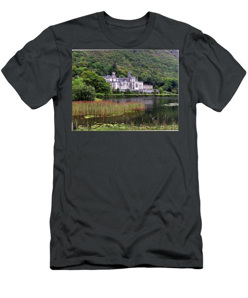 Kylemore Abbey, County Galway, Men's T-Shirt (Athletic Fit)