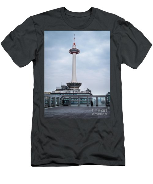 Kyoto Tower, Japan Men's T-Shirt (Athletic Fit)