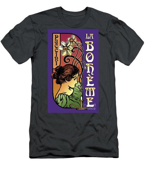 La Boheme Men's T-Shirt (Athletic Fit)