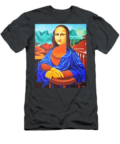 La Joconde Sur La Table Au Bol Vide Men's T-Shirt (Athletic Fit)