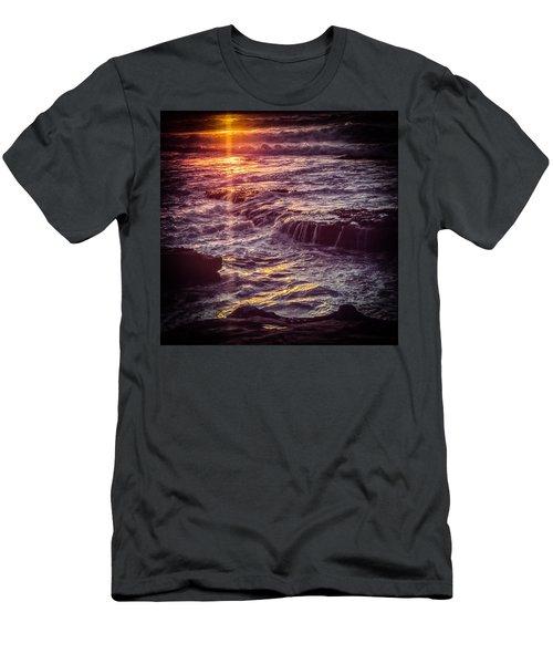 La Jolla Sunset Men's T-Shirt (Athletic Fit)