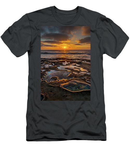 La Jolla Tidepools Men's T-Shirt (Athletic Fit)