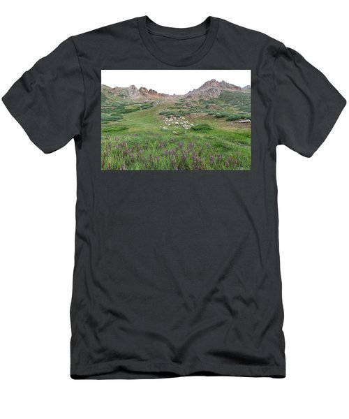 La Plata Peak Men's T-Shirt (Athletic Fit)