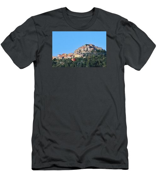 La Spezia Thru The Heart Of Tuscany To Florence Men's T-Shirt (Slim Fit) by Allan Levin