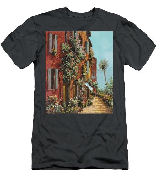 La Strada Verso Il Lago Men's T-Shirt (Athletic Fit)