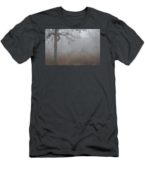 Men's T-Shirt (Slim Fit) featuring the photograph La Vernia Fog IIi by Carolina Liechtenstein