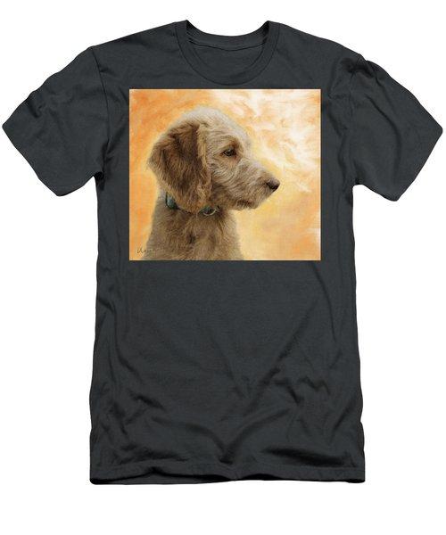 Labradoodle Puppy Men's T-Shirt (Athletic Fit)