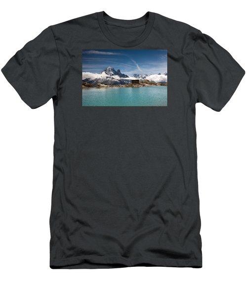 Lac Blanc Men's T-Shirt (Athletic Fit)