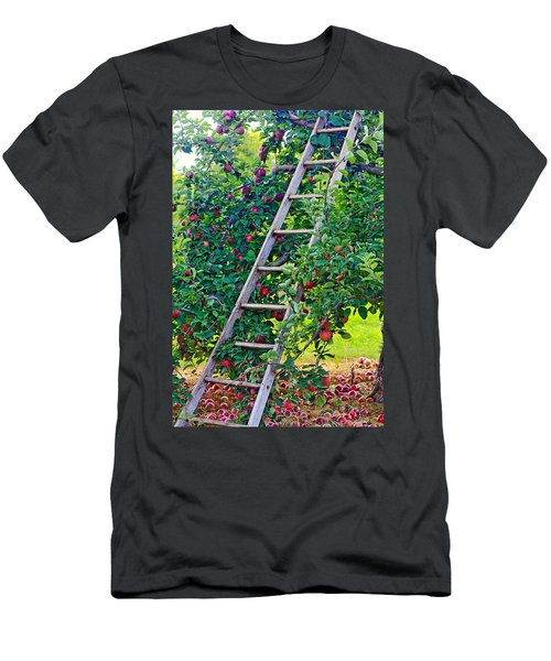 Ladder To The Top Men's T-Shirt (Athletic Fit)