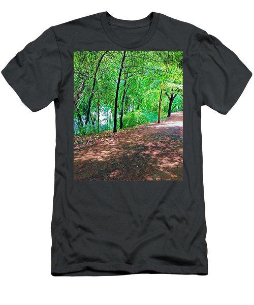 Lady Bird Trail Men's T-Shirt (Athletic Fit)