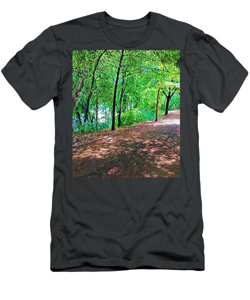 Lady Bird Trail Men's T-Shirt (Athletic Fit)