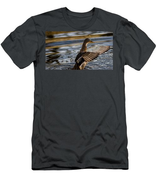 Lady Duck Men's T-Shirt (Athletic Fit)