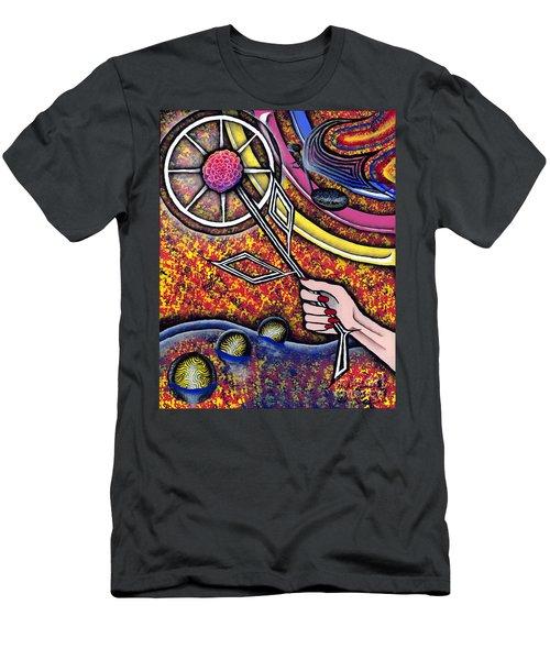 Lady Men's T-Shirt (Slim Fit) by Luke Galutia