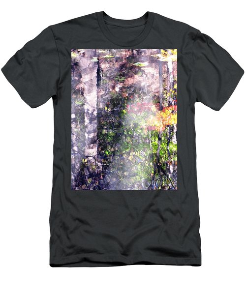 Lady On Water Men's T-Shirt (Slim Fit) by Melissa Stoudt