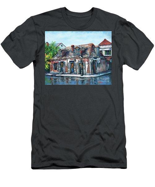 Lafitte's Blacksmith Shop Men's T-Shirt (Athletic Fit)