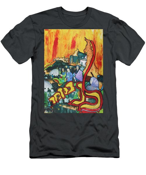 Lag B'omer Men's T-Shirt (Athletic Fit)