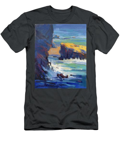Laguna Rocks Men's T-Shirt (Athletic Fit)