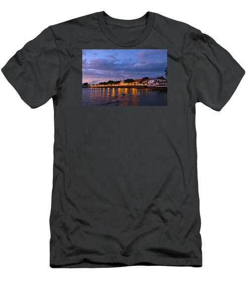 Lahaina Roadstead Men's T-Shirt (Slim Fit) by James Roemmling