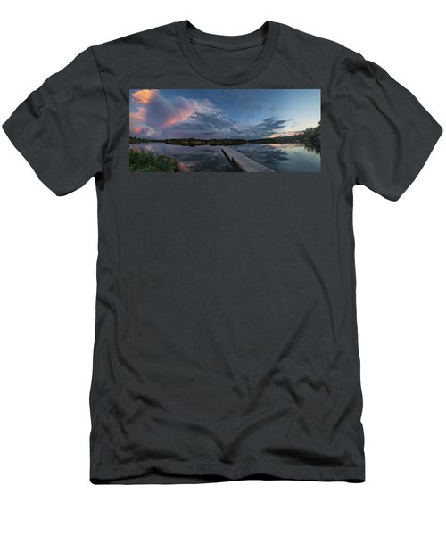 Lake Alvin Supercell Men's T-Shirt (Athletic Fit)