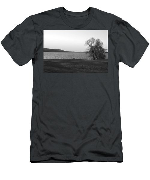 Lake Champlain Men's T-Shirt (Slim Fit) by Henri Irizarri