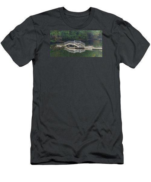 Lake Fenwick Men's T-Shirt (Slim Fit) by Jerry Cahill
