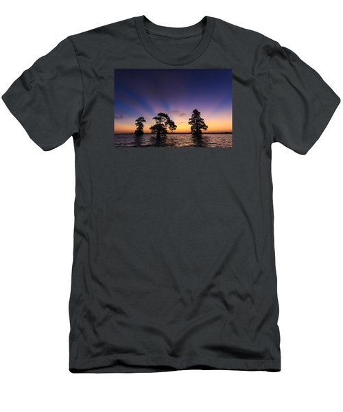Lake Istokpoga Sunrise Men's T-Shirt (Athletic Fit)