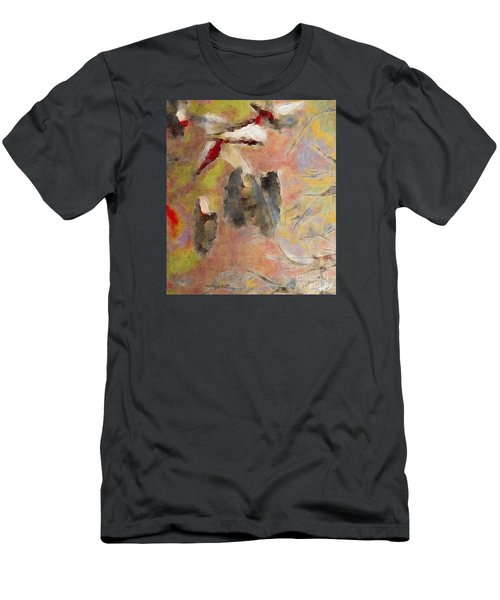 Men's T-Shirt (Slim Fit) featuring the photograph Lake Life by William Wyckoff